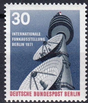 Západní Berlín / West Berlin 1971 Mi.391 MNH **