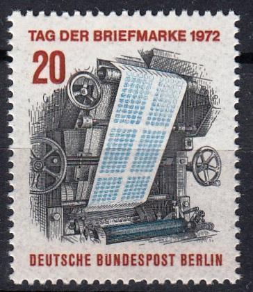 Západní Berlín / West Berlin 1972 Mi.439 MNH **