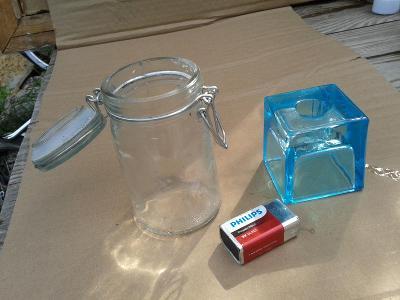 staré sklo -SVÍCEN- viz foto /771