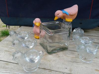 staré sklo -Dekorativní předměty  - viz foto /771
