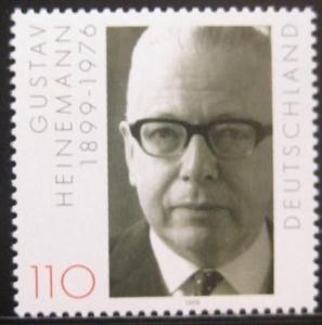Německo 1999 Prezident Gustav Heinemann Mi# 2067 0259