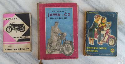 Příručky Jawa