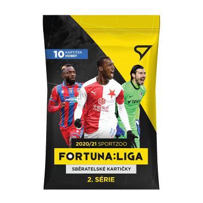 Fotbalové kartičky Fortuna Liga 2020/21 Druhá série - BALÍČEK HOBBY
