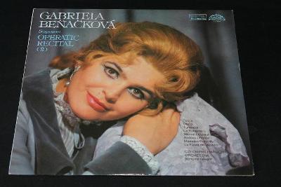 LP - Gabriela Beňáčková soprano  - Operatic Recital 2.   (s12)