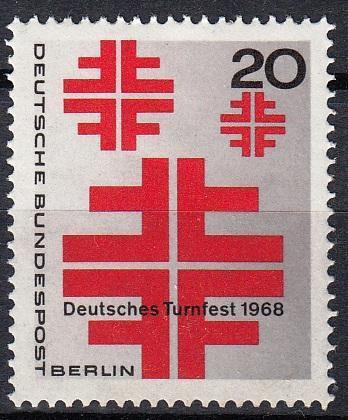 Západní Berlín / West Berlin 1968 Mi.321 MNH **