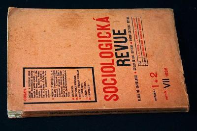 Sociologická revue - Bláha ,Fischer(l20)
