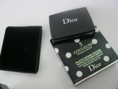 DIOR - Polka dots - paleta 5 ocnich stinu  c.536 Escapade