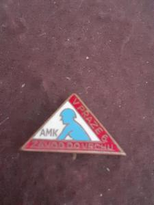 Odznak AMK závod do vrchu Praha - cyklistika