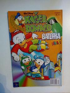 Časopis, Kačer Donald, č. 17/2002, pěkný stav
