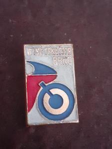 Odznak VELKÁ CENA  ČSSR BRNO - motorismus