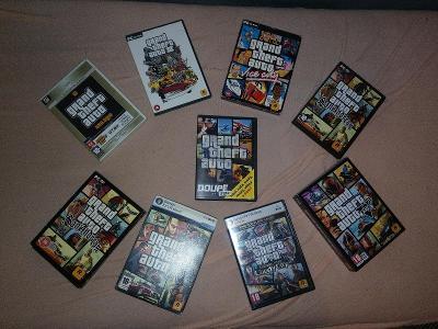 Grand Theft Auto KOLEKCE - od GTA Trilogy až po GTA V (PC)