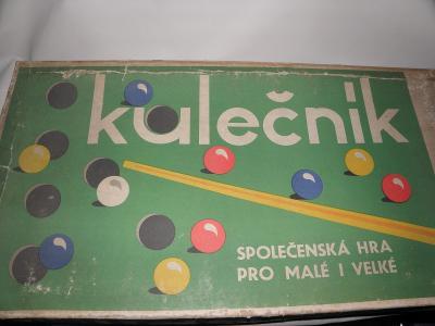 Stará hra - Kulečník od Chemoplast - od 1Kč