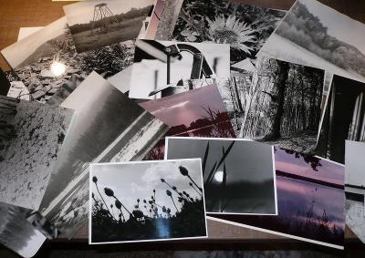 staré fotografie, zvětšeniny