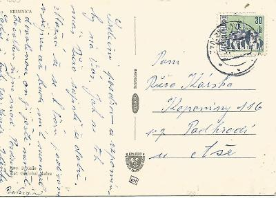 VLP 885 Zvolen - Nové Zámky, 1972, pohled Kremnica 2-1559°°