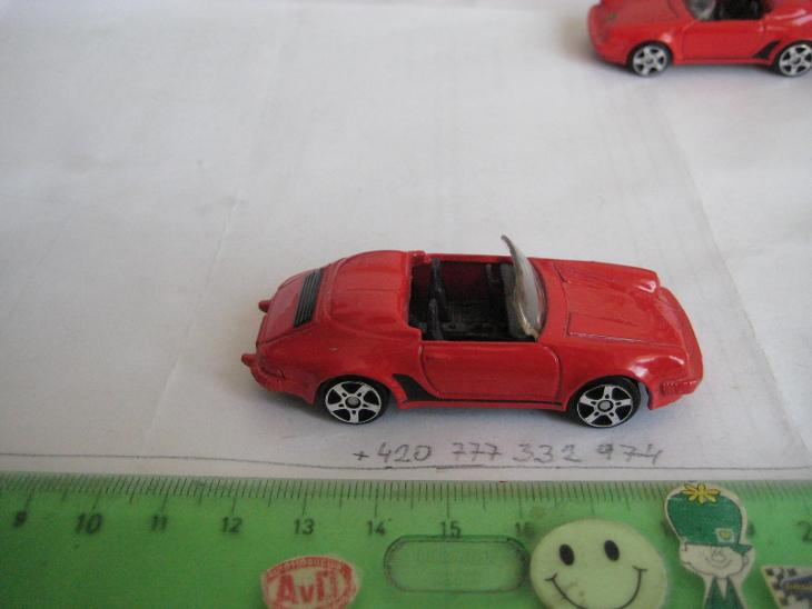 MAISTO, No 0928, PORSCHE 911 SPEEDSTER, BEZ znaku - Modelářství