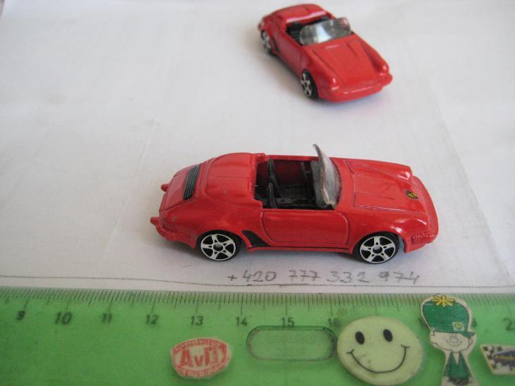 MAISTO, No 0928, PORSCHE 911 SPEEDSTER, SE ZNAKEM - Modelářství
