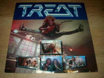 Treat  – Treat (1989) 1.Press ,TOP STAV!!!