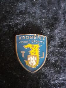 Odznak TJ Kroměříž  - vodní sporty