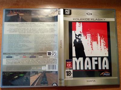 Mafia 1 (PC, DVD -ROM)