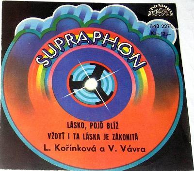 Víťa VÁVRA +Lenka KOŘÍNKOVÁ :Lásko,pojď blíž,Vždyť.., POŠTOVNÉ 99,- Kč