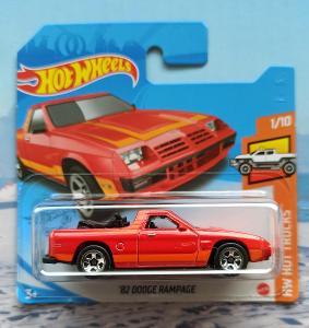 Dodge Rampage 1982 HotWheels