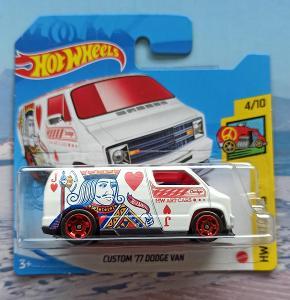 Dodge Van 1977 Art Cars HotWheels