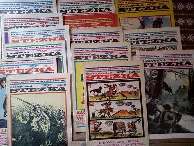 Časopis PIONÝRSKÁ STEZKA 1 ROČNÍK 1970/71 komplet