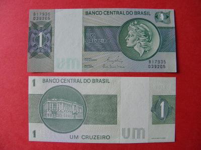 1 Cruzeiro ND(1980) Brazil - sig.20 - P191Ac - UNC - /Y158/