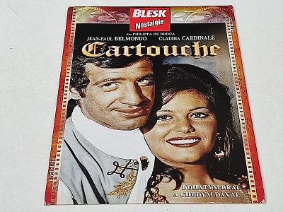 CARTOUCHE : BELMONDO - CLAUDIA CARDNALE // DVD NOVÉ