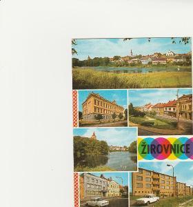 UNO vysočina 1/ pohlednice VF prošla- rožky-žirovnice