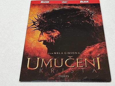UMUČENÍ KRISTA : FILM MELA GIBSONA   / DVD NOVÉ