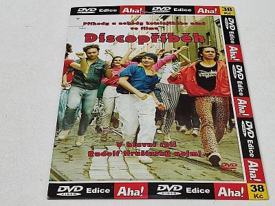 DISCOPŘÍBĚH : HRUŠÍNSKÝ / DVD NEŠKRÁBLÉ
