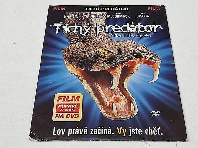 TICHÝ PREDÁTOR - HARRY HAMLIN  / DVD NEŠKRÁBLÉ