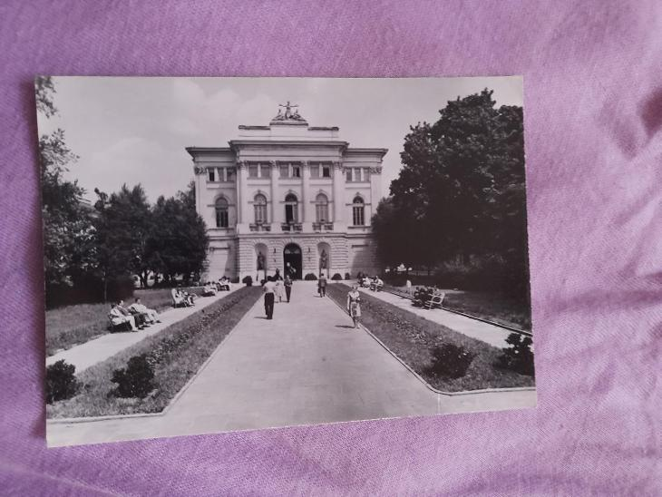 Pohlednice Varšava - Biblioteka Uniwersytecka,prošlé poštou  - Pohlednice