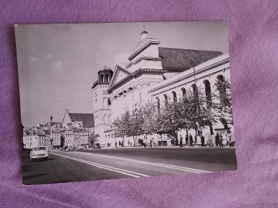 Pohlednice Varšava,r.1964,prošlé poštou