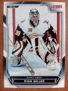 Ryan Miller, Buffalo Sabres, #33, UD Victory 2007/08