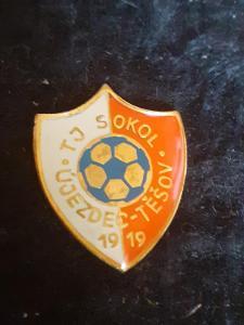 Odznak TJ ÚJEZDEC - TĚŠOV 1919