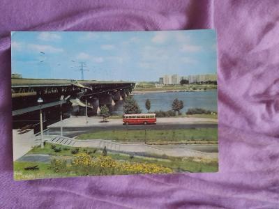 Pohlednice Varšava - Most Gdański,prošlé poštou