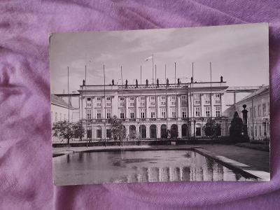 Pohlednice Varšava - Prezydium Rady Ministrów,prošlé poštou