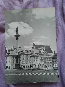Pohlednice Varšava - Plac Zamkowy,prošlé poštou