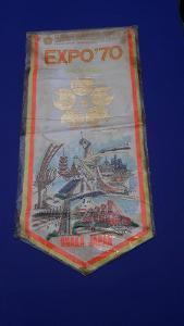 Vlajka EXPO 1970 Japan Osaka