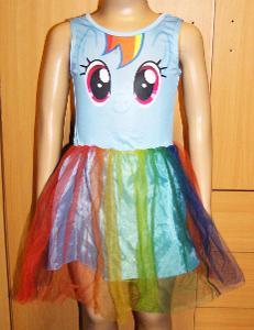 N1610 JEDNOROŽEC - dívčí šaty vel.104