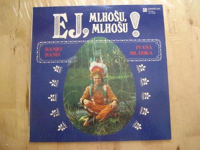 LP vinyl Ivan Mládek,nálezový stav od korunky