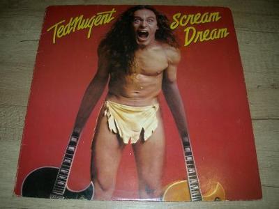 Ted Nugent – Scream Dream (1980) 1.Press , EX-
