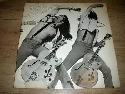 Ted Nugent – Free-For-All (1976) 1.Press UK ,EX+