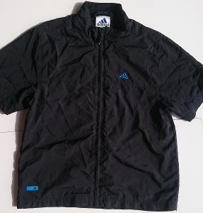 ADIDAS  černá košile s podšívkou  vel.140