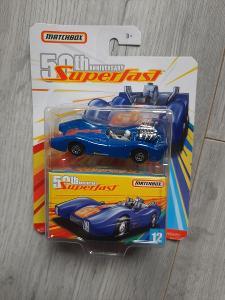 Matchbox Superfast Blue Shark