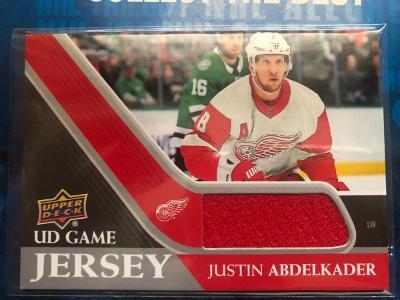 Justin Abdelkader UD Game Jersey