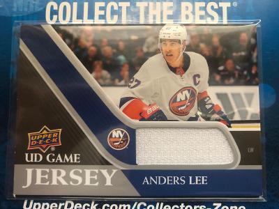 Anders Lee UD Game Jersey