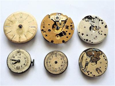 Strojky do náramkových hodinek #487-26